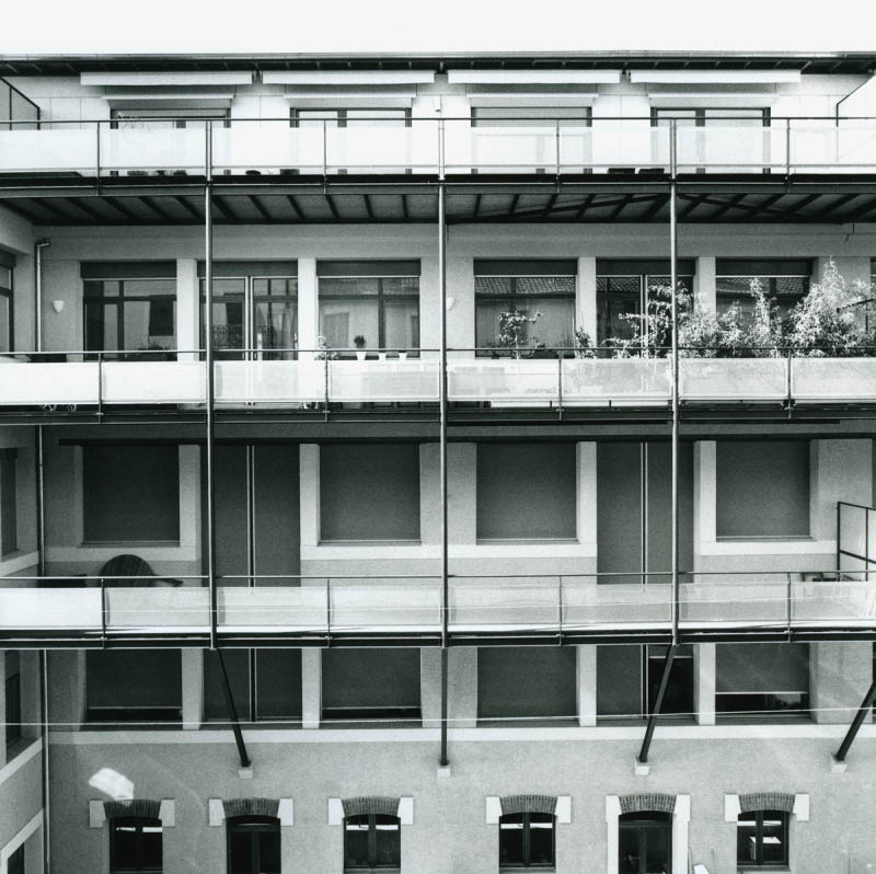 Balcons immeuble Cinégram