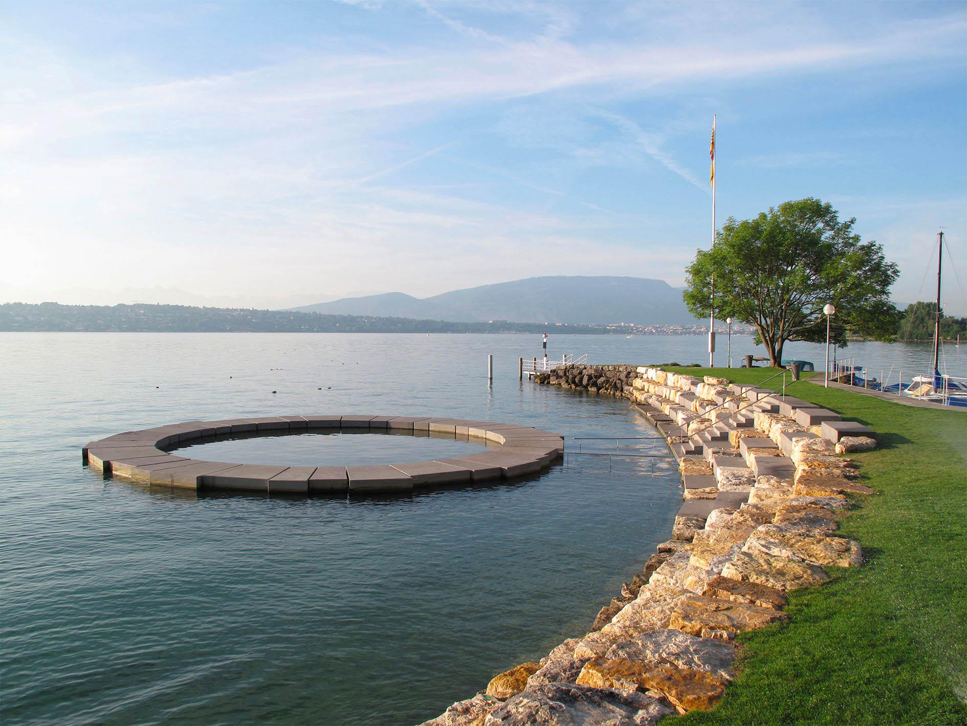 CERA anneau béton et escaliers port Gitana