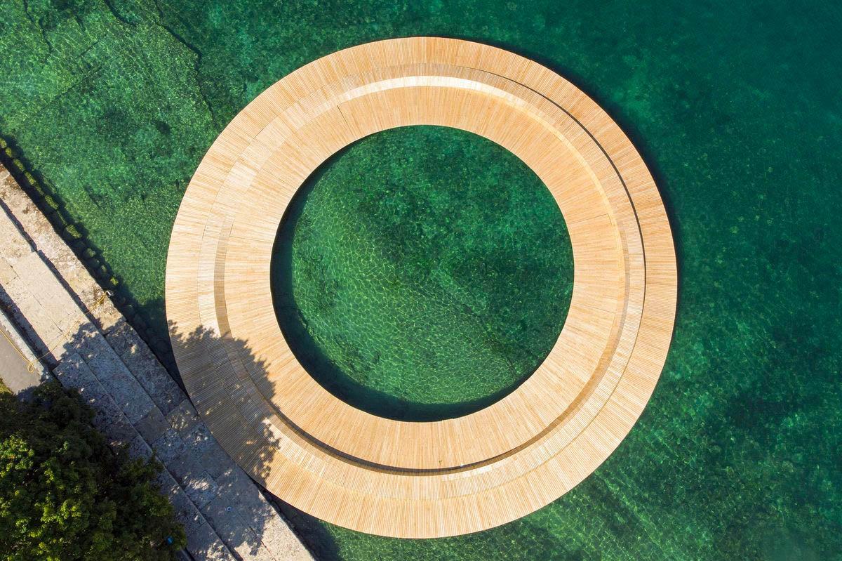 Ponton circulaire Genève