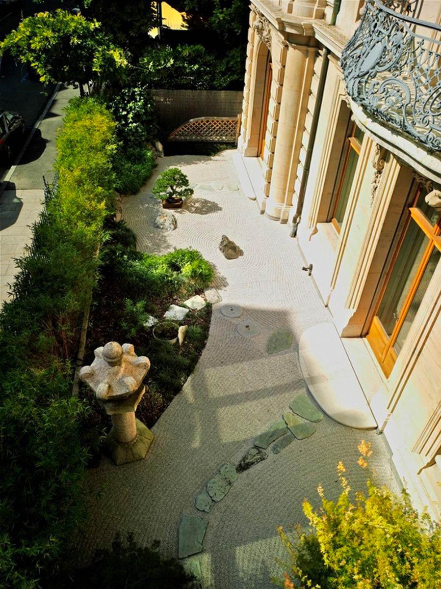 Jardin du Musée Baur