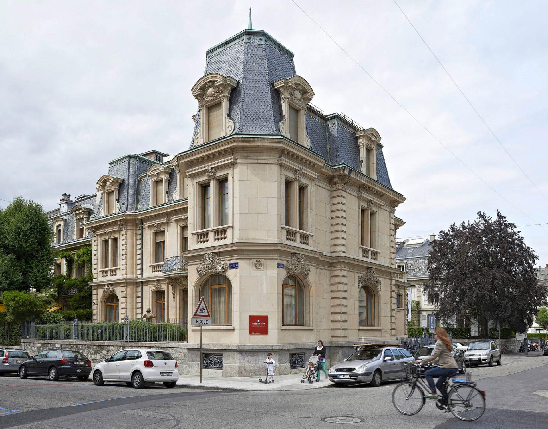 Façade du Musée Baur