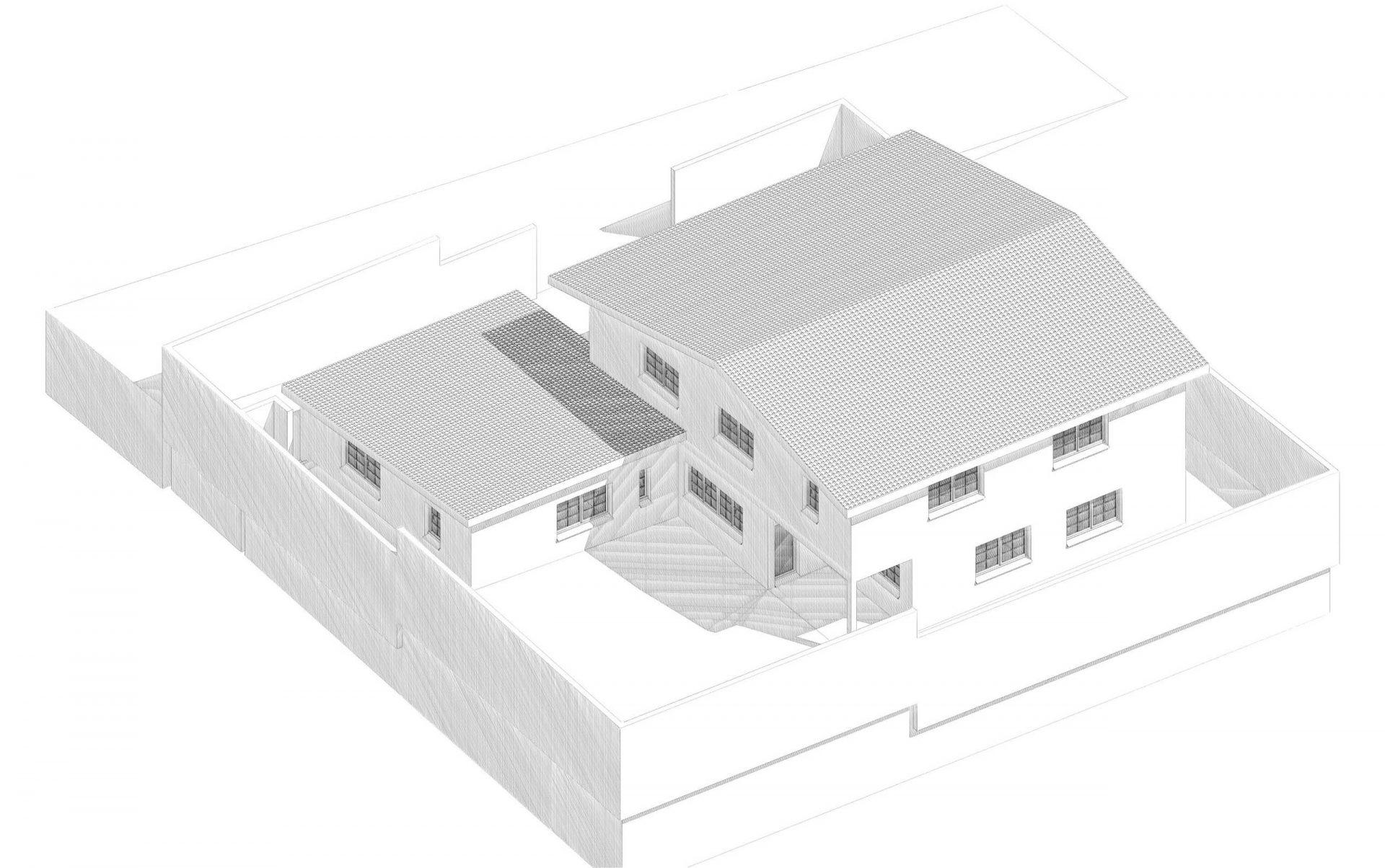 Plan villa Bediang