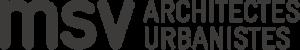 Logo du bureau d'architectes urbanistes MSV